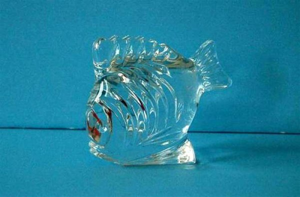 3007: WATERFORD CRYSTAL FISH