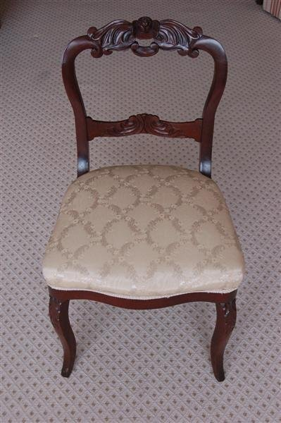 3019: VICTORIAN SIDE CHAIR