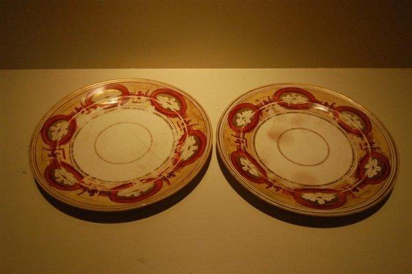 2007: 2 MASON'S IRONSTONE PLATES