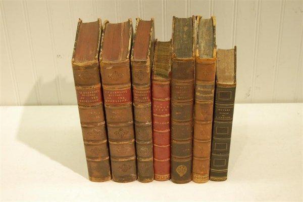 2021: SEVEN HALF LEATHER BOOKS
