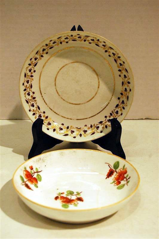 2024: TWO 19th C ENGLISH SAUCERS