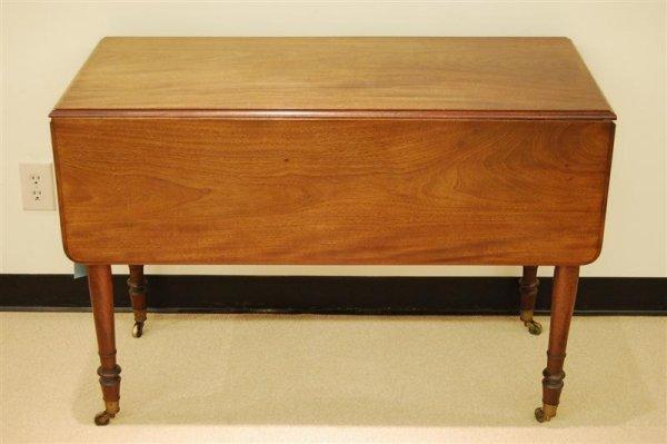 3010: ENGLISH MAHOGANY PEMBROKE TABLE