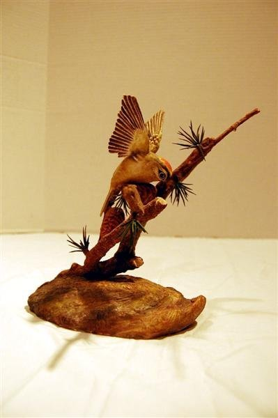 191: BOEHM LIMITED EDITION FIGURE - BIRD IN PINE TREE -