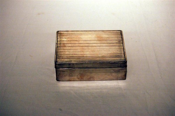 15: CHINESE EXPORT STERLING CIGARETTE BOX, EARLY 20TH C