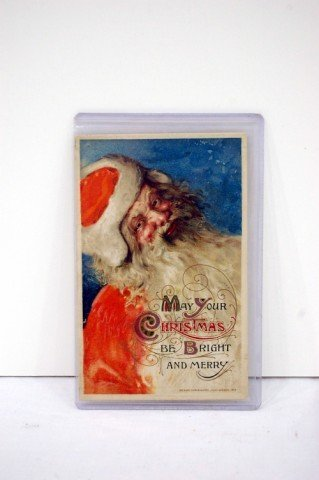 """219: CHRISTMAS CARD - """"MAY YOUR CHRISTMAS BE BRIGHT & M"""