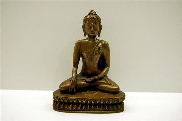 Bronze Chinese Seated Buddah