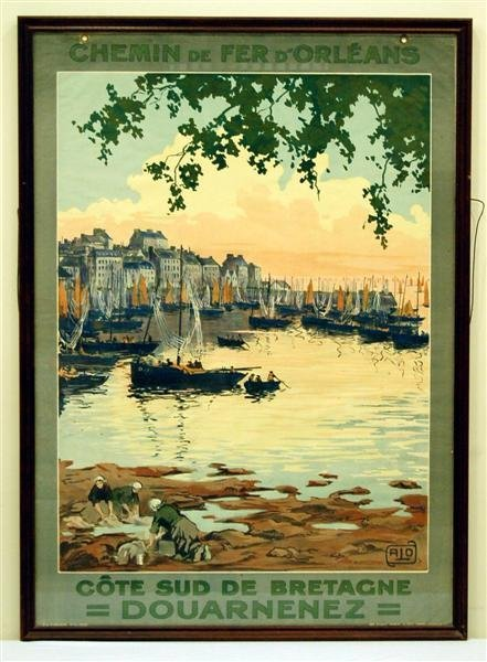 Charles Hallo French Travel Poster