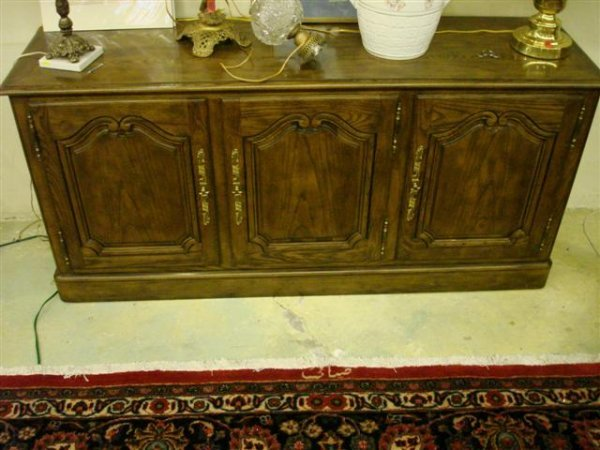 Baker Oak Country French Style Sideboard