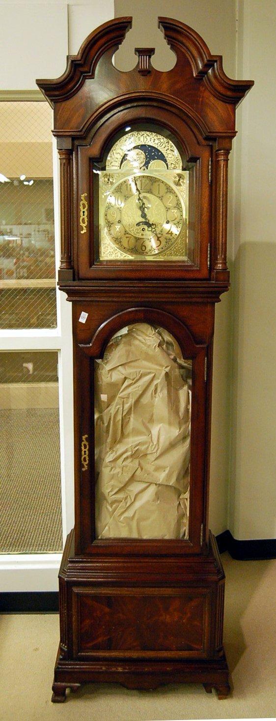 Mahogany Cased Heritage Heirloom Grandfather Clock