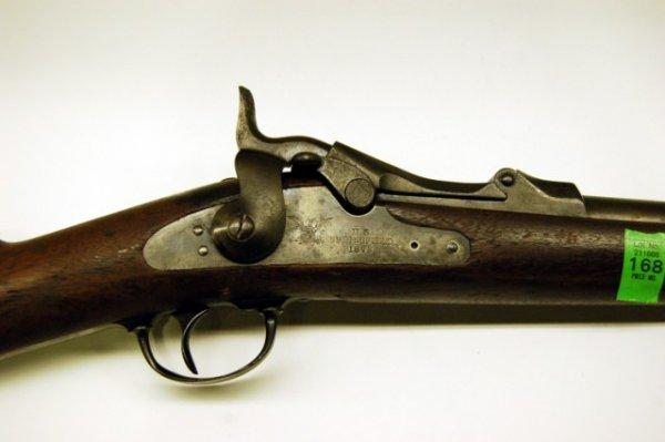 168: US Springfield Percussion Rifle - 1873