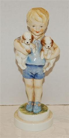 "7: Royal Wocester Figure - ""Monday's Child "" # 3519 - 7"