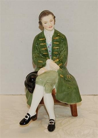 """11: Royal Doulton Figure -"""" A Lady from Williamsburg """"#"""