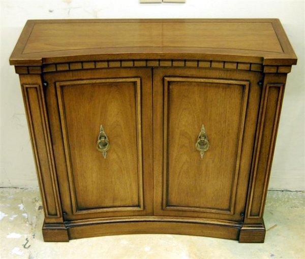 "14: Drexel Italian Style Two Door Console Table - 28"" T"