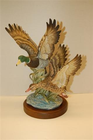 """22: Gorham-Daito  Limited Edition Figurine - """" Mallard"""