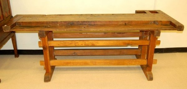 "4: American Maple Work Bench - 31"" T x 85 1/2""  x 18"