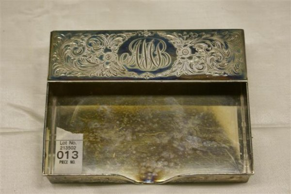 13: Sterling Card Holder - by Hodgson Kennard & CO. -st