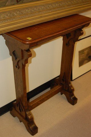 "10: English Oak Gothic Style Lecturn - 38"" T x 29 1/2"""