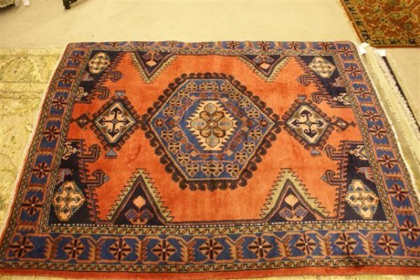 7: Hand Knotted Persian Vees
