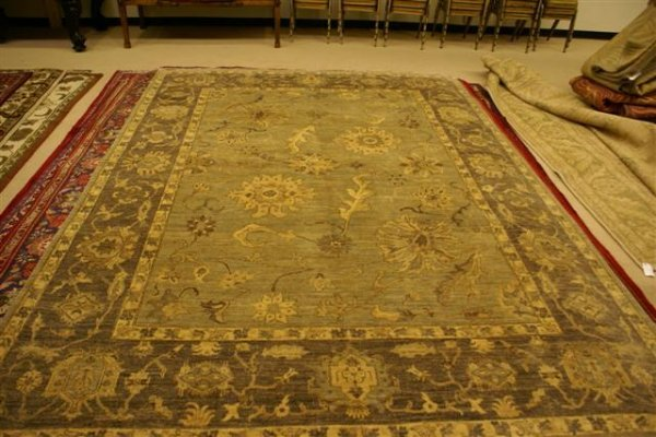 60: Hand Knotted Peshawar - (retail $12375.00) approxim