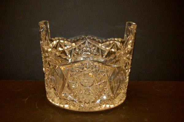 6: American Brilliant Period Cut Glass Ice Bucket