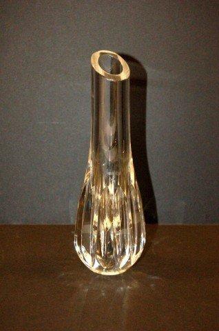 8: Baccarat Crystal Bud Vase