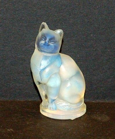 3: Sabino French Art Glass Cat