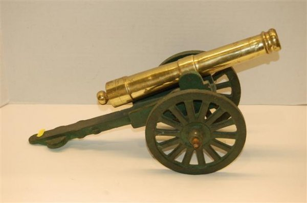 9: Brass & Patentized Iron Model Cannon