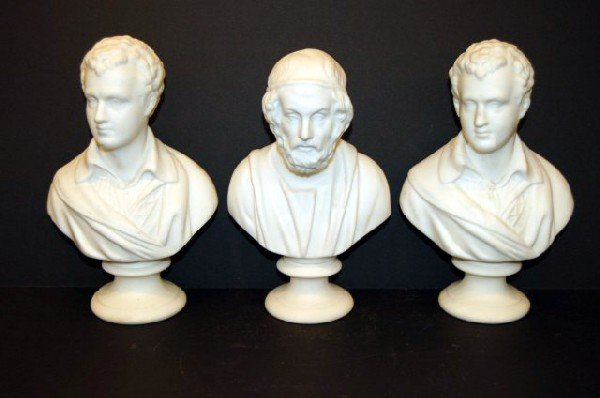 6: Three Parian Busts - Roman Senators