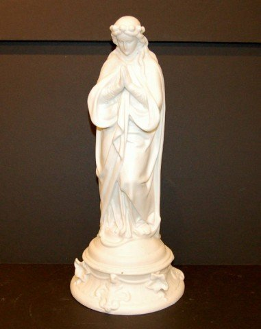 "22: Parian Statue "" Madonna """