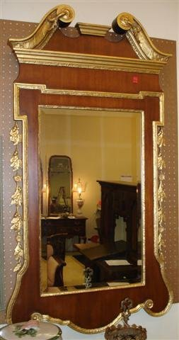 4: Pair of Gilt Framed Mirrors