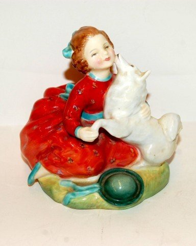 "8: Royal Doulton Figure, ""Home Again"" -Artist initialed"