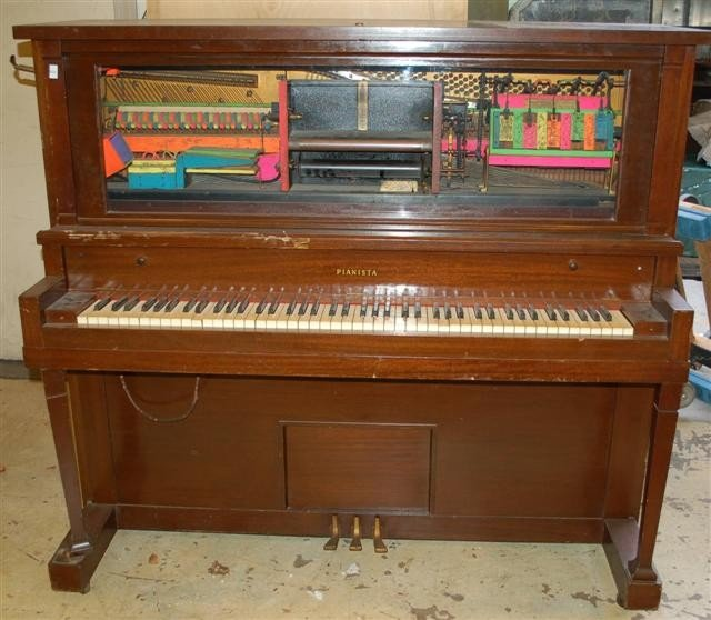5: Ruby Red Coin Operated Player Piano