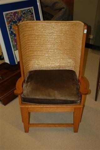 15: English Orkey Island Fisherman's Chair