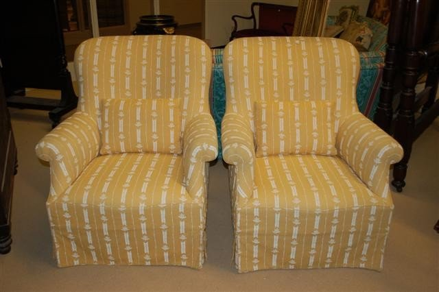 19: Pair of Salon Chairs by Dressen Furniture