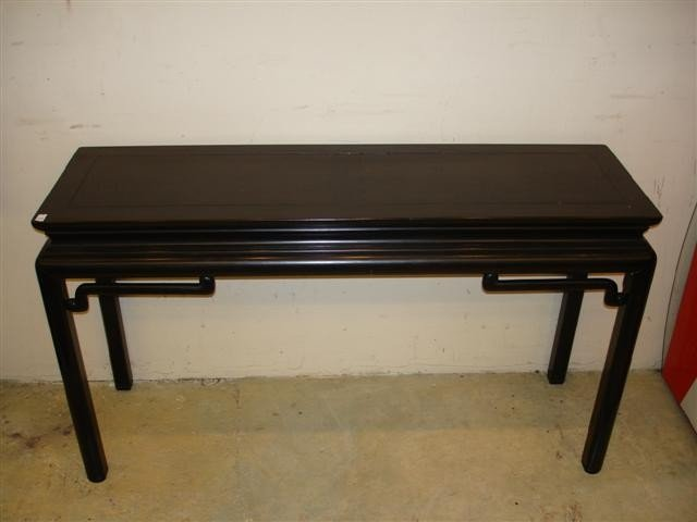 5: Baker Chinese Motif Hall Table
