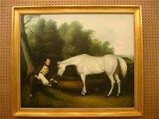 9: Oil on Canvas - John Ferneley & his Favorite Hunter