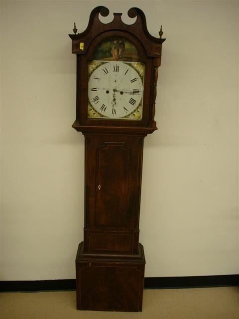 20: Late 18th Century English Grandfather Clock