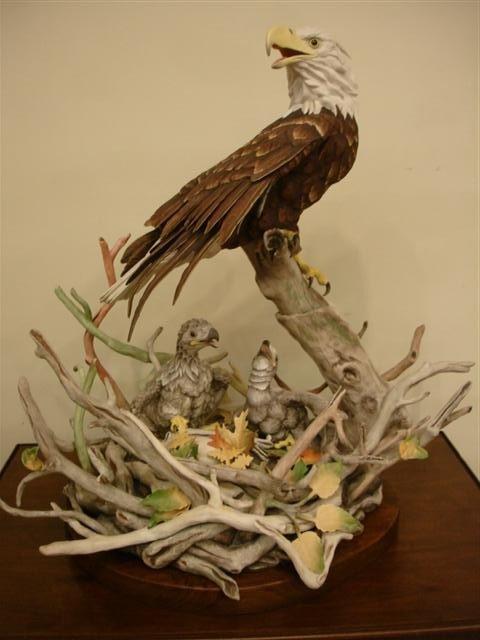 100: Large Limited Edition Boehm Bird Figurine