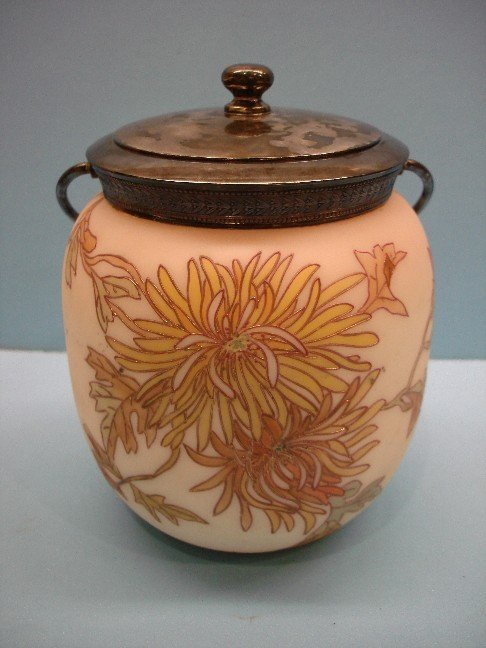 7: Unsigned Crown Milano Bisquit Jar