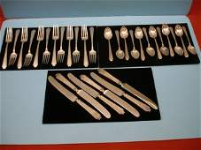 171: Partial Set Of Gorham Sterling Flatware - King Alb