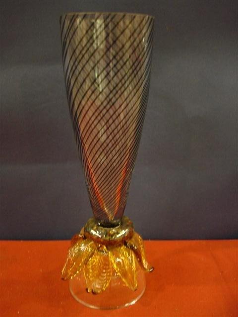 8: Art Glass Chalice