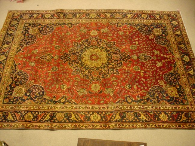 10: Hand Knotted Persian Tabriz