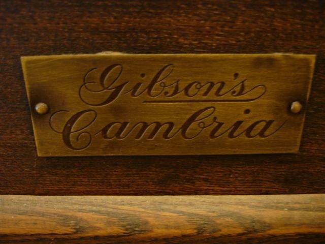 20: Gibson Cambria Oak Ice Box - 2