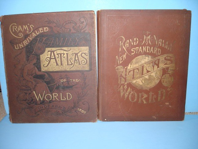 1: Two Map Book - Cram's Unrivaled Family Atlas