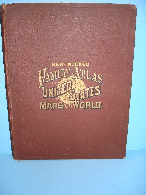 2: New Indexed Family Atlas of United States w/ Maps