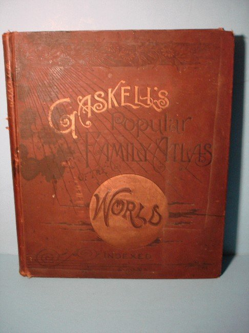 6: Caskell's Popular Family Atlas - World Indexed, 1887