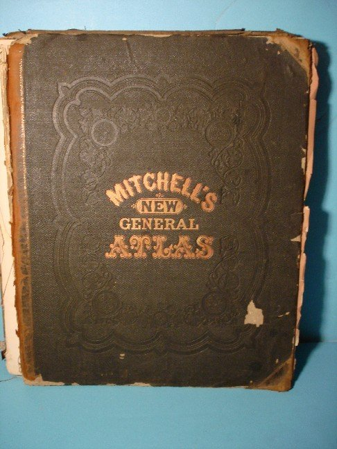 8: Mitchell's New General Atlas, 1873