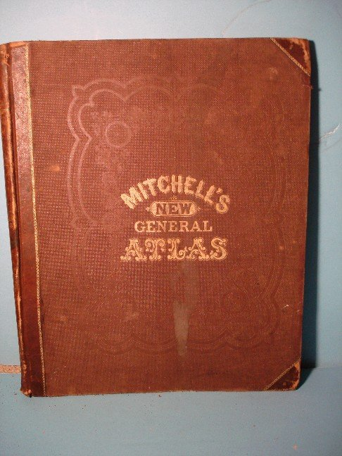 9: Mitchell's New General Atlas, 1865