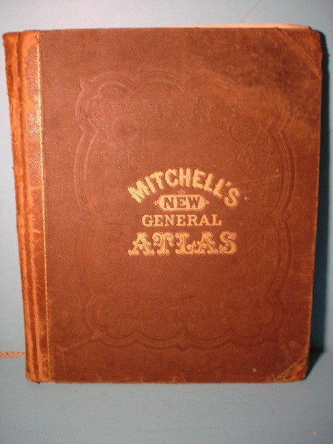 10: Mitchell's New General Atlas, 1871