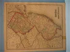 96 Five Grays Atlas Maps 1873  Delaware  Maryland